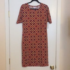 L LuLaRoe Julia Dress D05 831